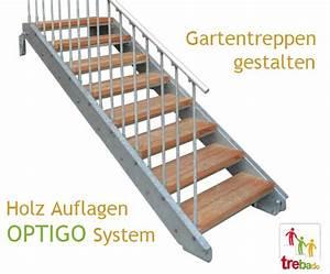 Stahltreppe Mit Holzstufen : gartentreppe holz stahl treppen bausatz do it yourself ~ Michelbontemps.com Haus und Dekorationen