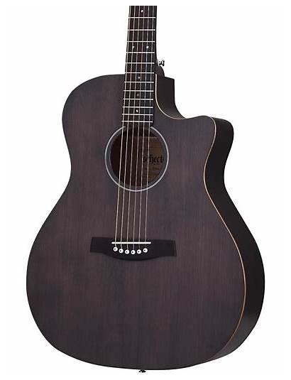 Guitar Acoustic Schecter Deluxe Thru Guitars Research