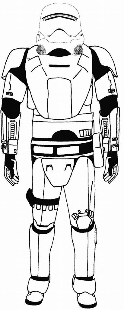 Order Stormtrooper Coloring Wars Star Types Flametrooper