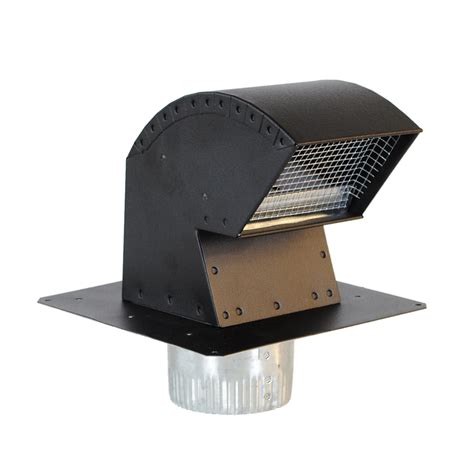 chimney exhaust fans cost shop imperial aluminum roof vent kit at lowes com