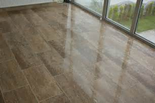 travertine tile puts the quot tile quot in versatile