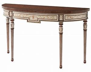 Louis XVI Style Console Table Console Hall Tables From