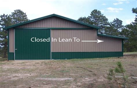 Lean To Addition To Pole Barn