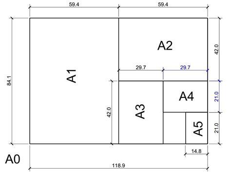 standard paper sizes a4 dimensions a5 dimensions a2