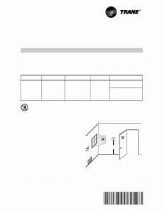 Trane Tcont802as32da Instruction Manual