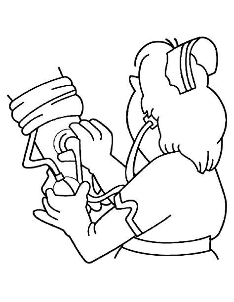 nurse coloring pages  coloring pages  kids