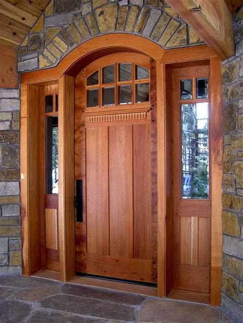 Style Doors by Craftsman Front Doors For Homes Custom Contemporary