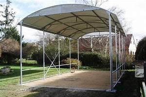 Abri camping car Essentiel Jardin Couvert