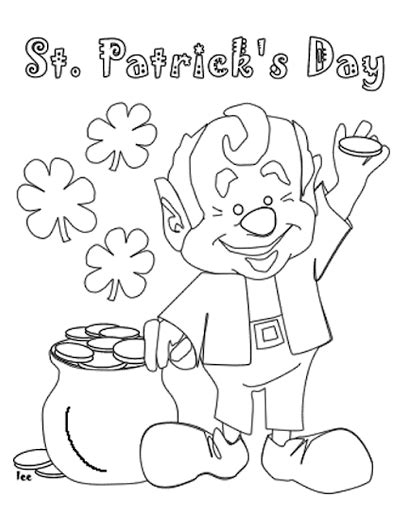 st patricks day coloring sheets st s day coloring pages and activities for