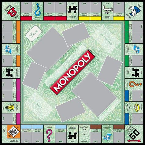 Custom Monopoly Board Template by 18 Best Monopoly Templates Images On