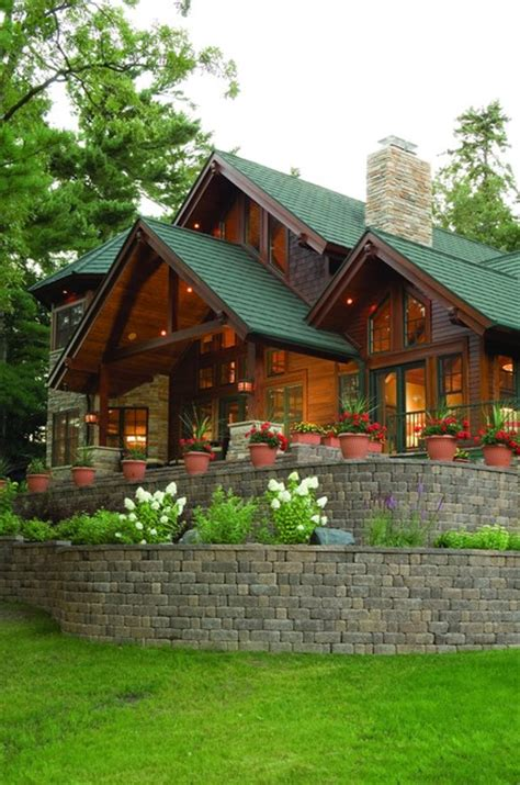 welcoming rustic homes