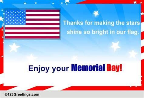 enjoy  memorial day    ecards greeting