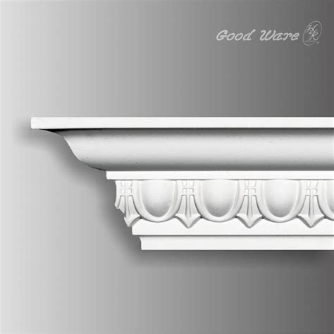 Cornice Moulding by Polyurethane Egg And Dart Classic Cornice Molding