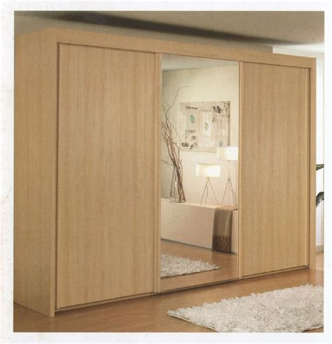 Wardrobe Wide by Rauch Imperial Sliding Door Wardrobe With All Mirror Doors