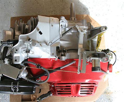 honda gx390k1 vxg horizontal crankshaft engine honda gx160 electric start wiring diagram