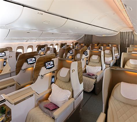 Best Business Seats Lie Flat Beds And Armani Amenities