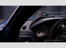 BMW HeadUp Screen YouTube