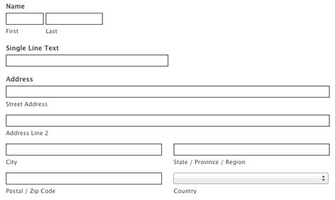customize your form with css exles wufoo