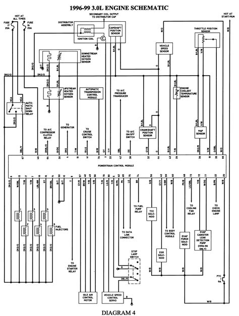 1998 Caravan Wiring Schematic by Repair Guides