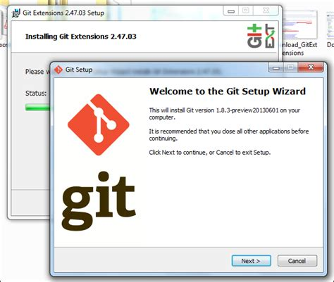 git configuration installation on windows faruk s