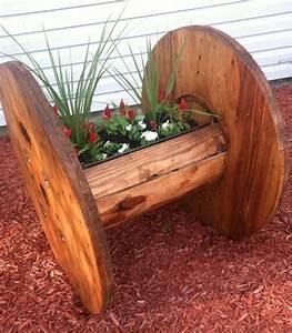 1001 idees que faire avec un touret des inspirations recup for Idee deco cuisine avec fabrication de table en bois