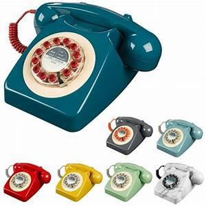 Telephone Filaire Retro : telephone fixe vintage ~ Teatrodelosmanantiales.com Idées de Décoration
