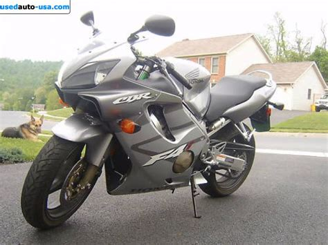 2005 honda cbr 600 for sale for sale 2005 motorcycle honda cbr 600 f4i new orleans