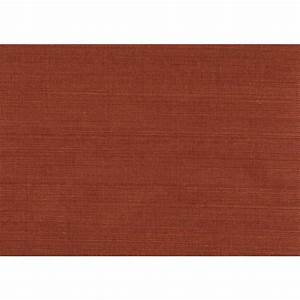 Kenneth James 8 in. x 10 in. Kokoro Red Grasscloth ...