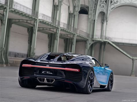 2017 Rear Bugatti Chiron