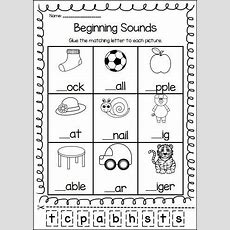 Letters  Prek  Kindergarten Worksheets, Beginning Sounds Worksheets, Phonics Worksheets