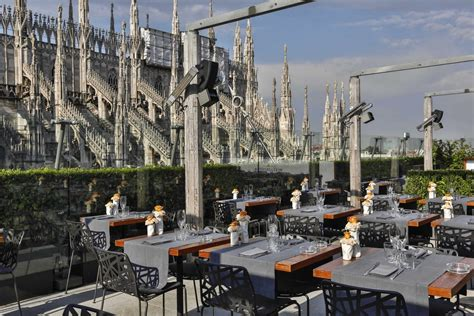 terrazza rinascente breakfast at la rinascente milan on floor 7 starting from