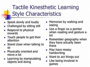 Physical learning style