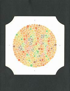 Ishihara Color Blind Chart Tests For Colour Blindness