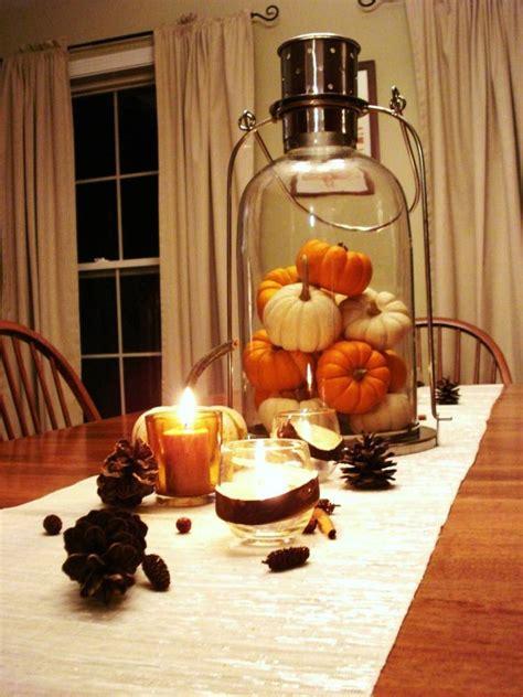 deco table automne idees  astuces de decoration