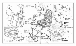 2016 Toyota Tacoma Seat Back Recliner Adjustment Mechanism