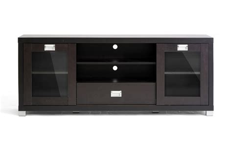 tv stand glass doors matlock modern tv stand with glass doors affordable
