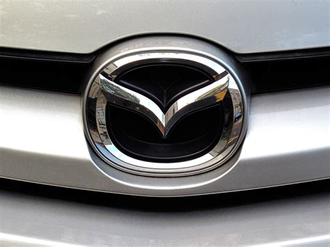 Mazda Logo Free Stock Photo Image Picture Mazda Logo