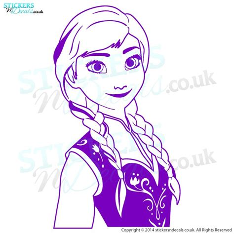 anna from frozen wall art vinyl decal