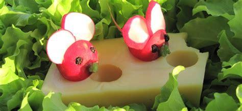buffet cuisine occasion les souris radis une recette facile de cuisine amusante