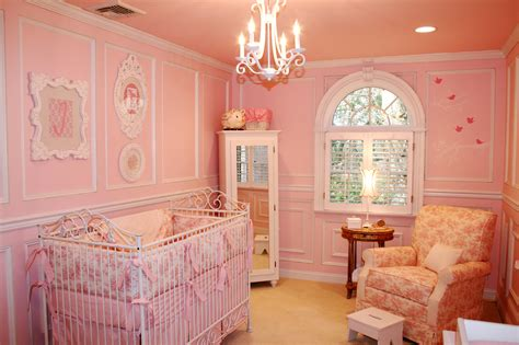 pink toile shabby chic nursery project nursery