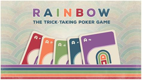 From wikimedia commons, the free media repository. Rainbow: The Trick-Taking Poker Card Game by Danger Games — Kickstarter