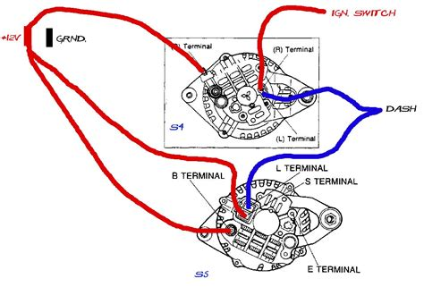 auto alternator regulator wiring ford autos post