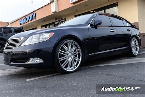 lexus rims 22 2012 lexus ls460 22 quot xix wheels x23 silver machined with