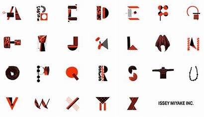 Alfabeto Animado Issey Miyake Imaginativo Abecedario Letra