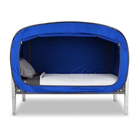 privacy pop bed tent twin blue buy   uae