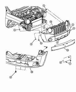 jeep patriot parts diagram 2007 front bumper With jeep liberty parts diagram moreover 2005 jeep liberty suspension parts