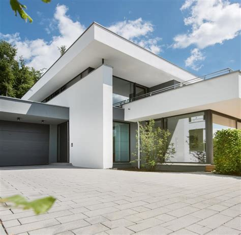 Dachueberstand Schutz Vor Wind Und Wetter by Moderne Satteldachhauser Ohne Dachuberstand
