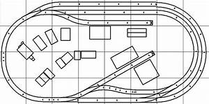Model Railroad Track Plan