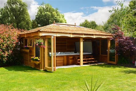 automated house lighting tub and garden gazebos and swim spa gazebos