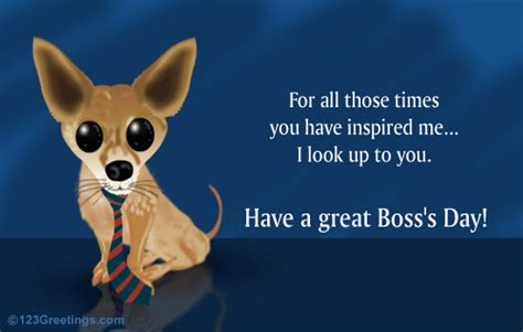 Free Halloween Ecards Add Photo by Boss S Day Appreciation Free You Inspire Me Ecards